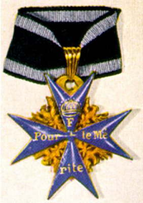 prussia knighthood medal